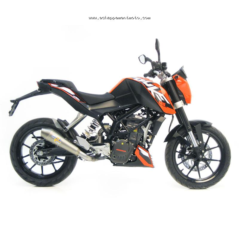 echappement moto ktm 125 duke. Black Bedroom Furniture Sets. Home Design Ideas