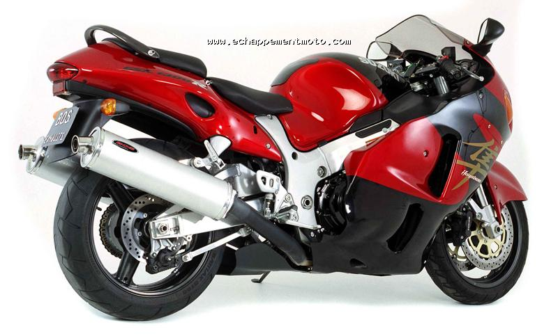 echappement moto suzuki gsx 1300 hayabusa. Black Bedroom Furniture Sets. Home Design Ideas