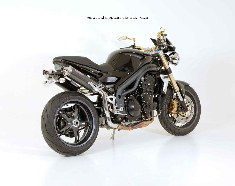 echappement moto triumph speed triple 1050. Black Bedroom Furniture Sets. Home Design Ideas